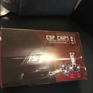 Brand new led headlights CSP CHIPS SUPER BRIGHT